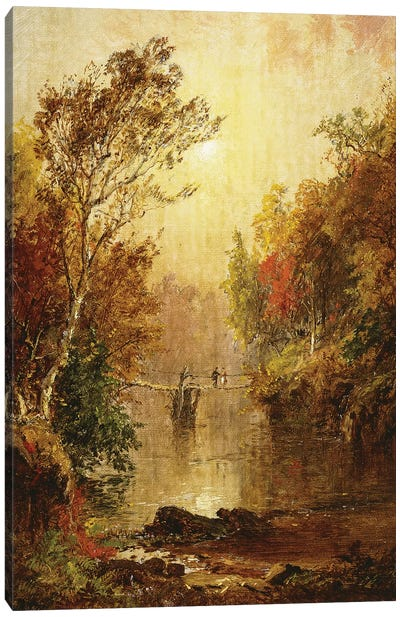 Autumn on the Wawayanda, 1877  Canvas Art Print