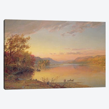 Lake George, NY, 1871  Canvas Print #BMN10536} by Jasper Francis Cropsey Canvas Wall Art