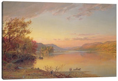 Lake George, NY, 1871  Canvas Art Print
