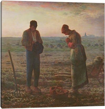 The Angelus, 1857-59  Canvas Art Print