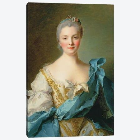 Madame de la Porte Canvas Print #BMN10546} by Jean-Marc Nattier Canvas Art Print