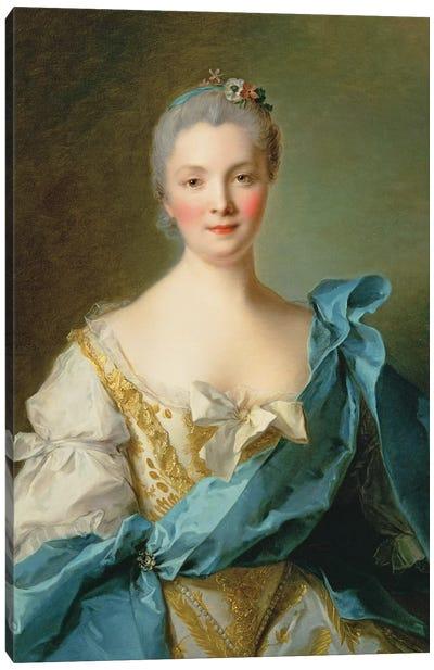 Madame de la Porte Canvas Art Print
