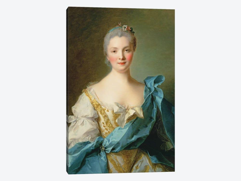 Madame de la Porte by Jean-Marc Nattier 1-piece Canvas Artwork