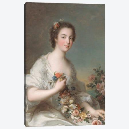 Portrait of a Lady, 1738  Canvas Print #BMN10547} by Jean-Marc Nattier Canvas Art Print