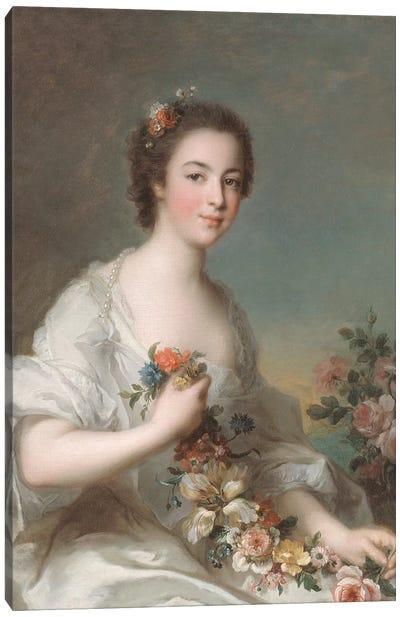 Portrait of a Lady, 1738  Canvas Art Print