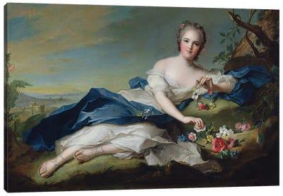 Portrait of Henriette de France, c.1742  Canvas Art Print