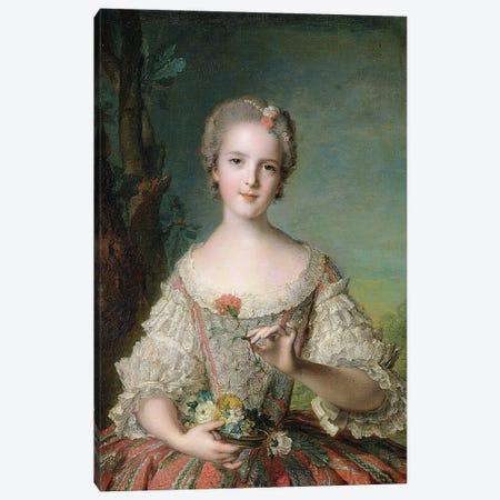 Portrait of Madame Louise de France  at Fontevrault, 1748  Canvas Print #BMN10550} by Jean-Marc Nattier Canvas Art Print