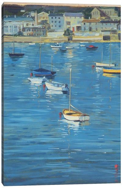 Salcombe, Sparkling Morning, 2002  Canvas Art Print