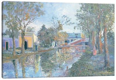 Ixtacalco Canvas Art Print