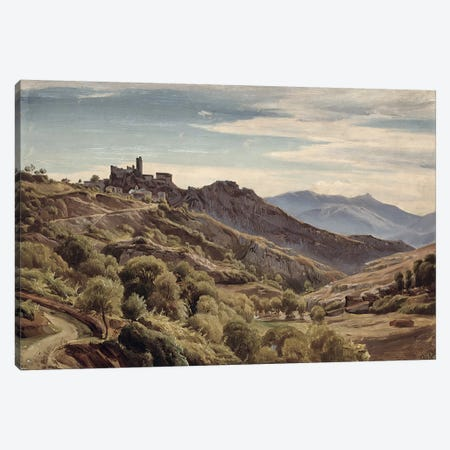 View of Olevano  Canvas Print #BMN1058} by Franz Theobald Horny Canvas Print