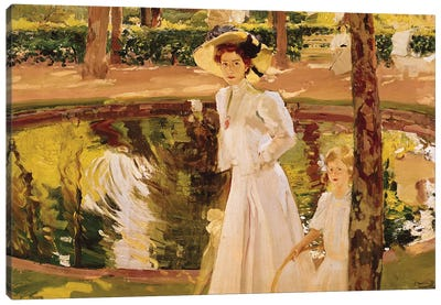 The Garden, 1913  Canvas Art Print