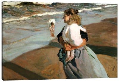 The Little Granddaughter, 1908  Canvas Art Print