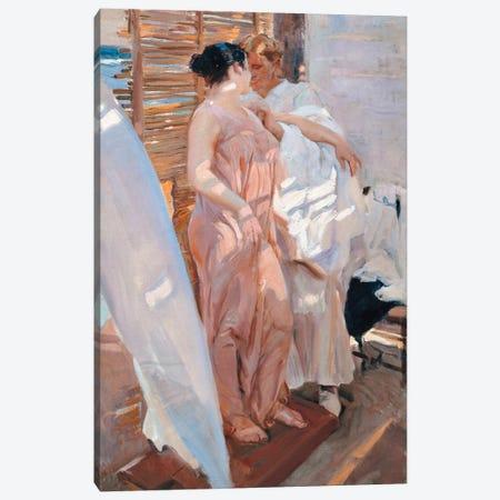 The Pink Robe, After the Bath, 1916  Canvas Print #BMN10600} by Joaquin Sorolla y Bastida Canvas Print