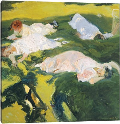 The Siesta, 1911  Canvas Art Print