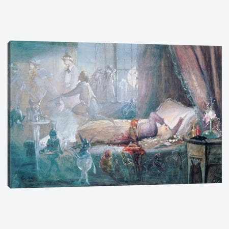 """""""The Stuff that Dreams are Made of""""   Canvas Print #BMN10611} by John Anster Fitzgerald Canvas Art"""