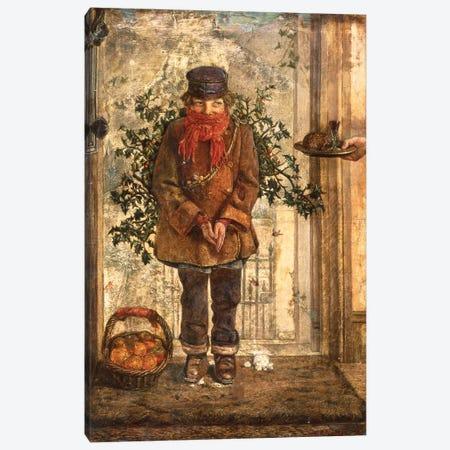 Christmas  Canvas Print #BMN10612} by John Anster Fitzgerald Canvas Art