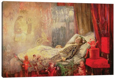The Stuff that Dreams are Made Of, 1858   Canvas Art Print