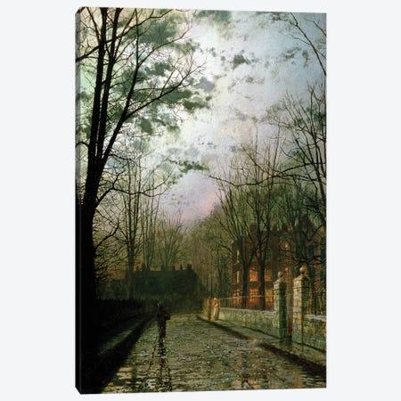 After the Shower Canvas Print #BMN10622} by John Atkinson Grimshaw Canvas Art Print