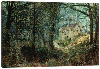 Autumn Glory: The Old Mill, 1869  Canvas Art Print