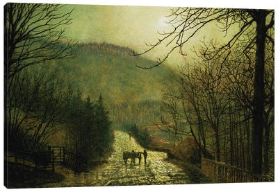 Forge Valley Canvas Art Print