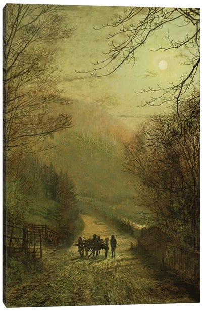 Forge Valley, Scarborough Canvas Art Print