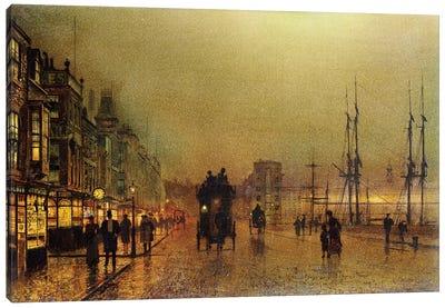 Glasgow  Canvas Art Print