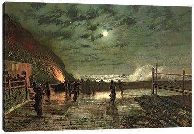 In Peril  1879  Canvas Art Print
