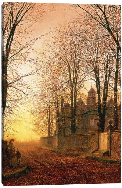 In the Golden Olden Time, c.1870 Canvas Art Print