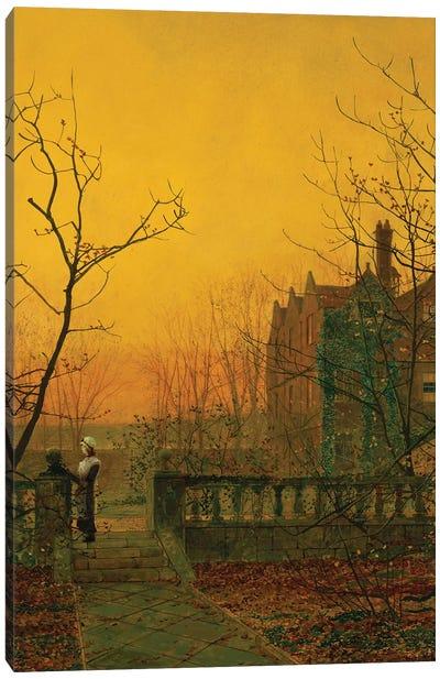 Knostrop Hall, Leeds  Canvas Art Print