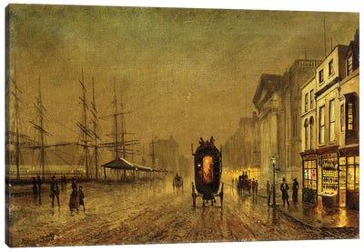 Liverpool Docks,  Canvas Art Print