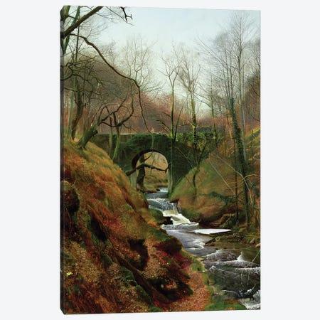 March Morning Canvas Print #BMN10654} by John Atkinson Grimshaw Canvas Art Print