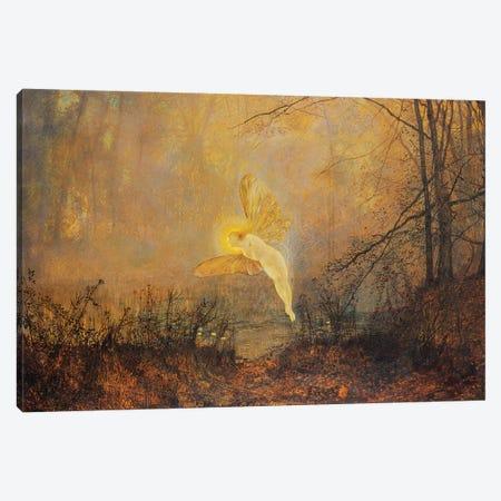 Midsummer Night, or 'Iris', 1876  Canvas Print #BMN10655} by John Atkinson Grimshaw Art Print