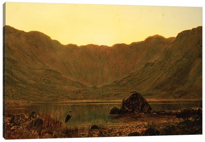 Mountain Solitude, 1885  Canvas Art Print