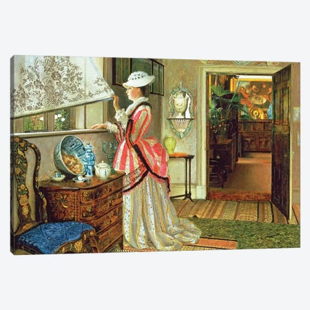 Summer Canvas Print #BMN10663} by John Atkinson Grimshaw Canvas Print