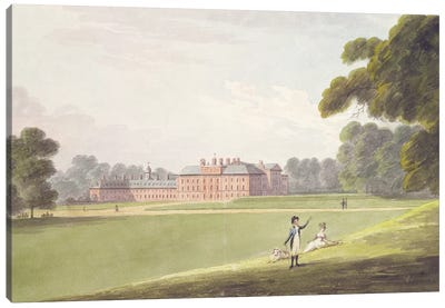 Kensington Palace  Canvas Art Print