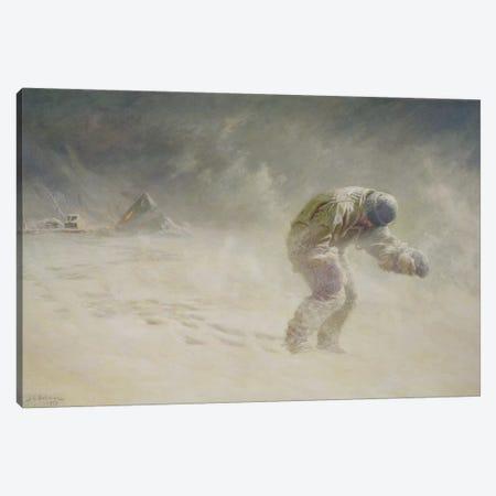A very gallant gentleman, 1913  Canvas Print #BMN10675} by John Charles Dollman Canvas Print