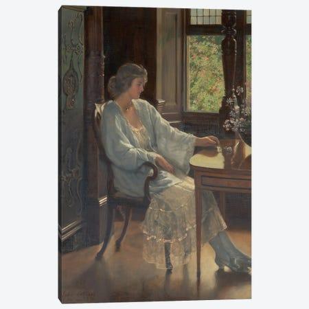 Meditation, 1921  Canvas Print #BMN10678} by John Collier Canvas Art