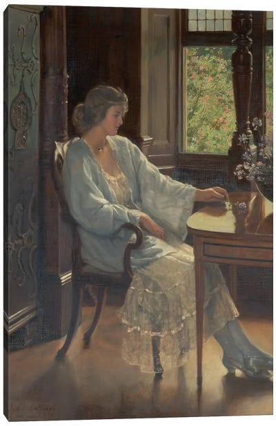 Meditation, 1921  Canvas Art Print
