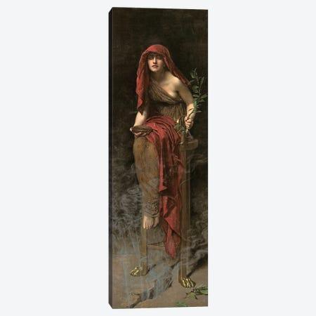 Priestess of Delphi, 1891  Canvas Print #BMN10680} by John Collier Canvas Art Print