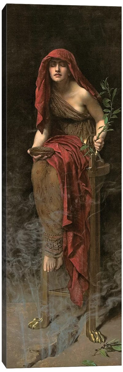 Priestess of Delphi, 1891  Canvas Art Print