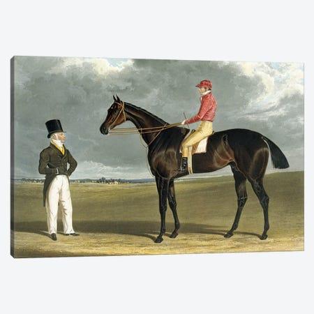 Birmingham', Winner of The St Leger, 1830 Canvas Print #BMN10695} by John Frederick Herring Sr Art Print