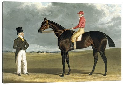 Birmingham', Winner of The St Leger, 1830 Canvas Art Print
