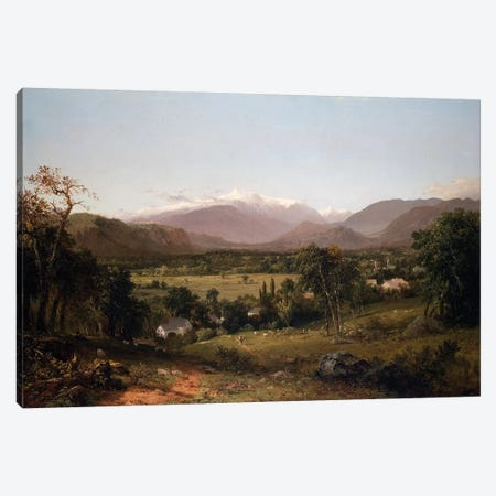 Mount Washington from the Valley of Conway, 1851  Canvas Print #BMN10699} by John Frederick Kensett Canvas Art