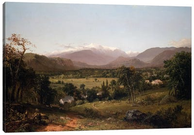 Mount Washington from the Valley of Conway, 1851  Canvas Art Print