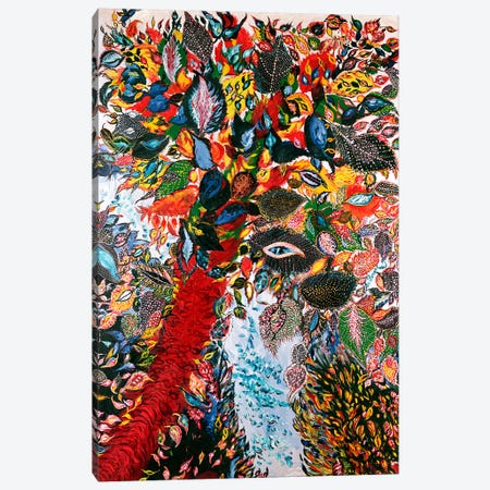 The Tree of Paradise, c.1929 (oil on canvas) Canvas Print #BMN106} by Seraphine Louis Canvas Art