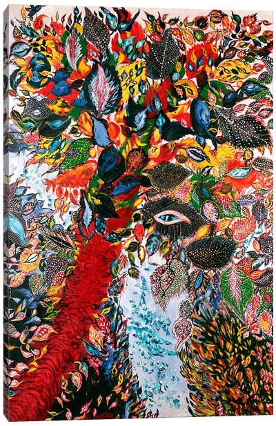 The Tree of Paradise, c.1929 (oil on canvas) Canvas Print #BMN106