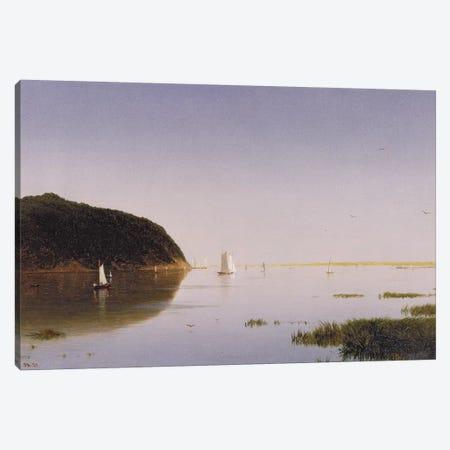 Shrewsbury River, New Jersey, 1859  Canvas Print #BMN10700} by John Frederick Kensett Canvas Artwork