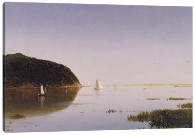 Shrewsbury River, New Jersey, 1859  Canvas Art Print