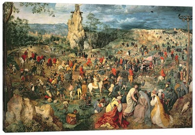 Christ carrying the Cross, 1564 Canvas Art Print