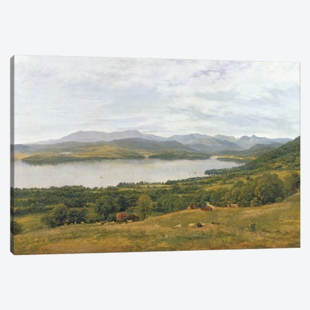 The Head of Windermere  Canvas Print #BMN10713} by John Glover Art Print